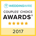 Wedding Wire: Couple's Choice Award 2017